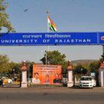 Rajasthan University RU jaipur
