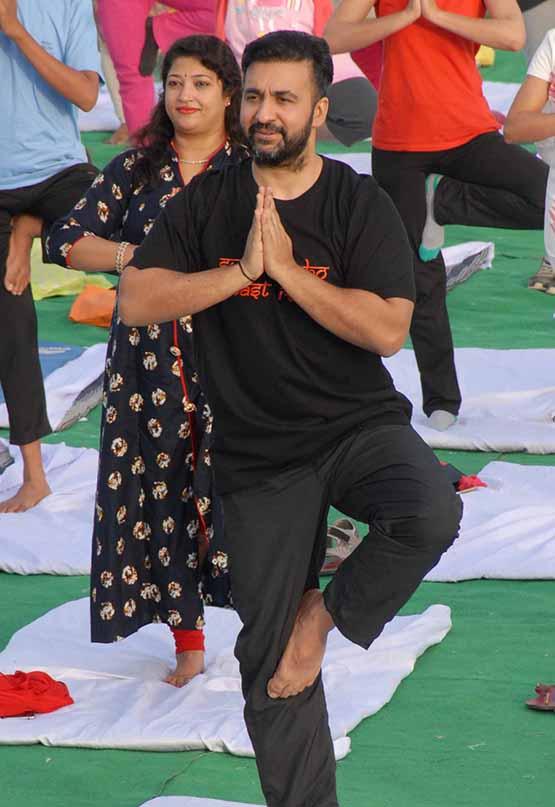 raj kundra yoga