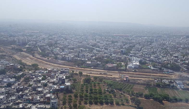 dravyavati river project view from sky