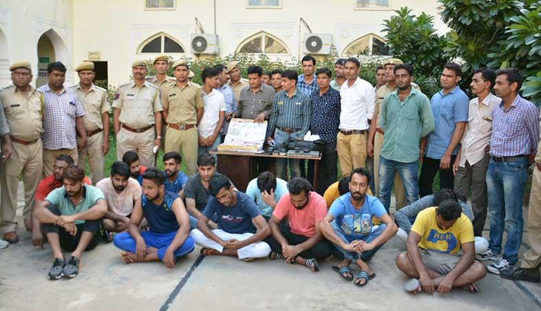 Rajputana premium league RPL match fixing arrest