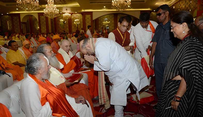 amit shah jaipur hindu seers