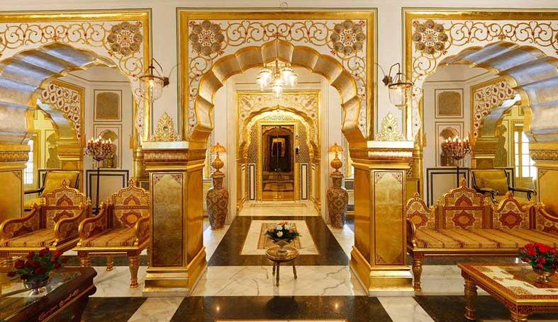 Maharajah Pavilion At Raj Palace In Jaipur Rated Top Hotel