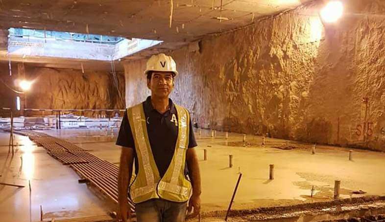 Jaipur metro tunnel badi chaupar chandpol
