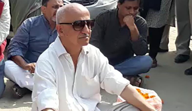 Harsh Mandar pehlu khan rally