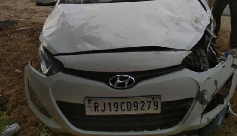 IAS Shyam Singh accident Pali