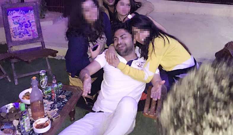 vishal Choudhary Facebook page from Jaipur central jail