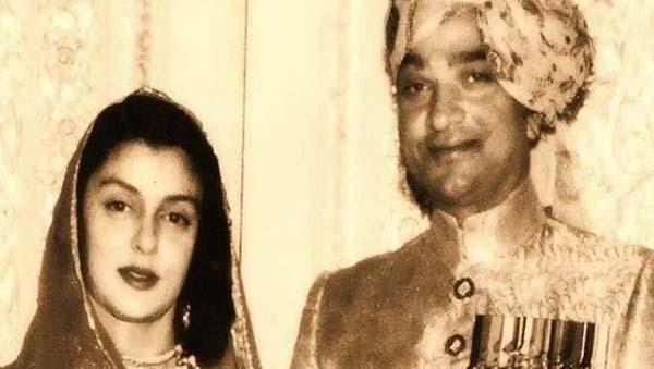 gayatri devi husband man singh