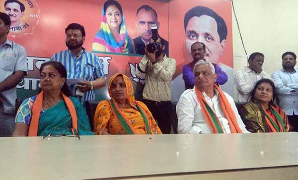 Rajasthan's NPP MLA Kirodilal Meena joins BJP