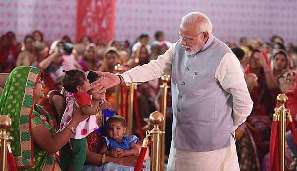 prime minister Narendra Modi in Jhunjhunu