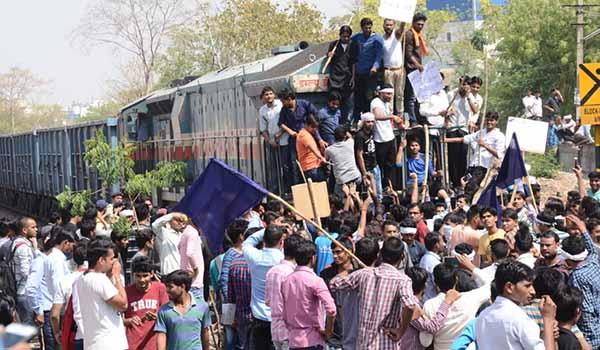 bharat bandh supporters jaipur