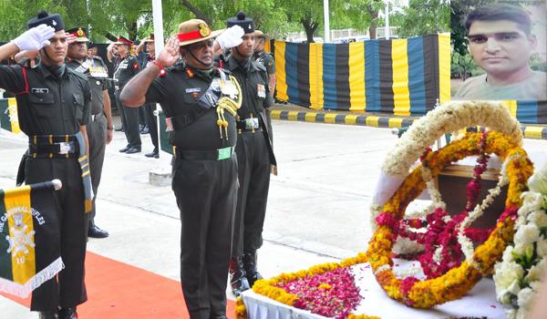 CRPF jawan Sandeep Yadav from Rajasthan martyred in Anantnag