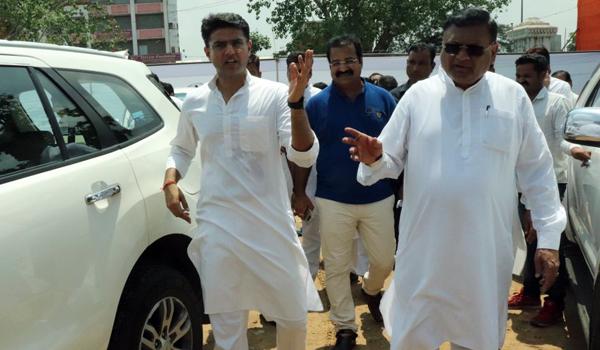 Rahul Gandhi road show in jaipur 34343243243