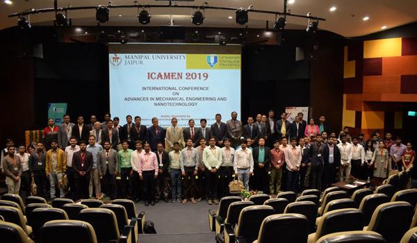ICAMEN 2019 manipal university jaipur