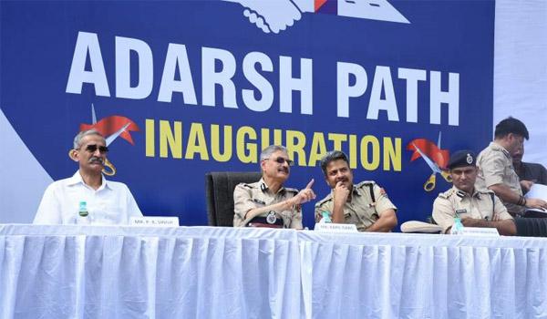 adarsh path JLN inaugration jaipur