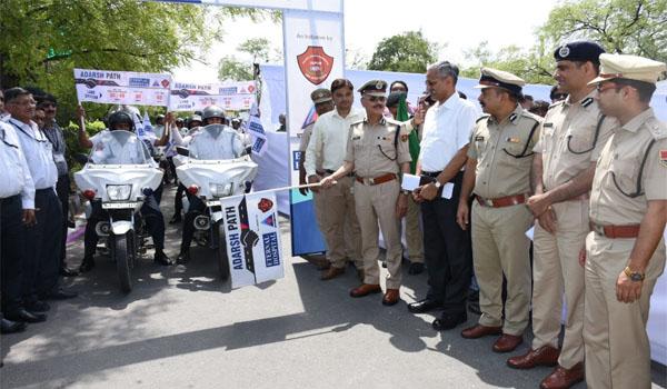 adarsh path inaugrated at JLN in jaipur