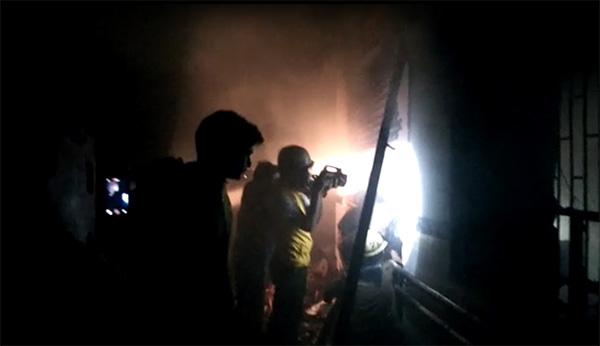 sms hospital fire