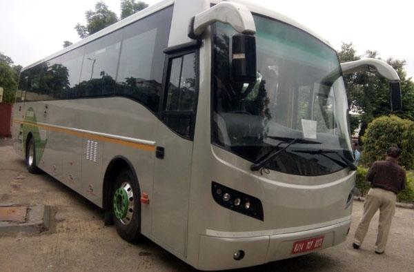 electric buses jaipur delhi