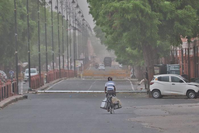 deserted roads jaipur