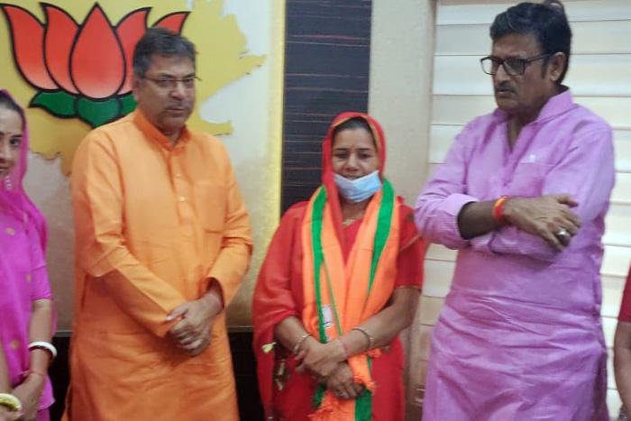 Rama devi joining bjp